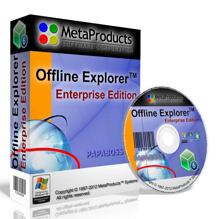 MetaProducts Offline Explorer Enterprise 6.5.3880 Final.